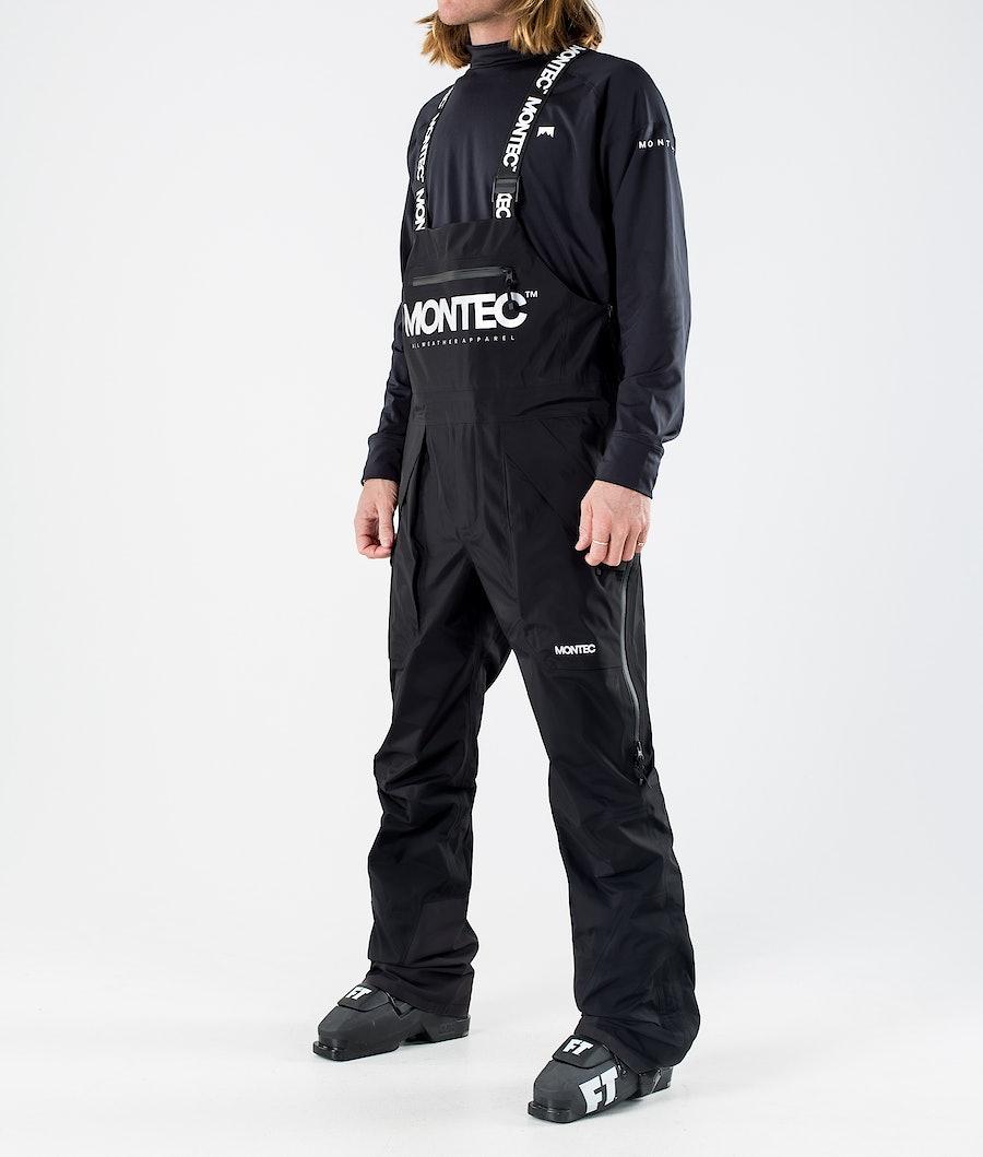 Montec Fenix 3L Skidbyxa Black
