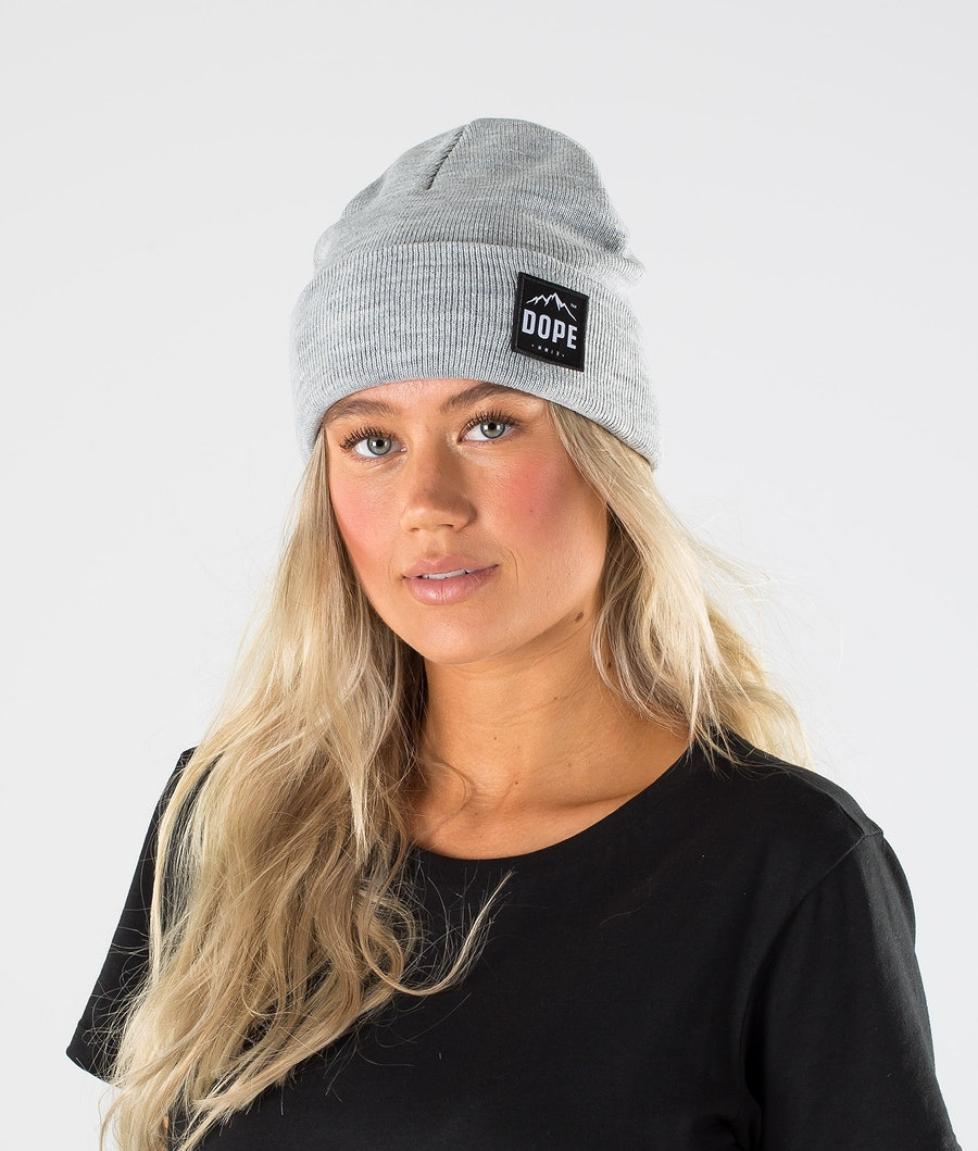 Dope Paradise Women's Beanie Light Grey Melange
