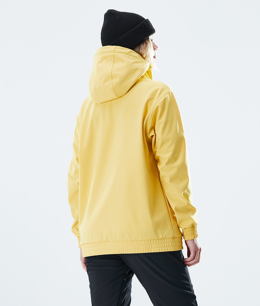 Dope Nomad Outdoor Jas Dames Yellow