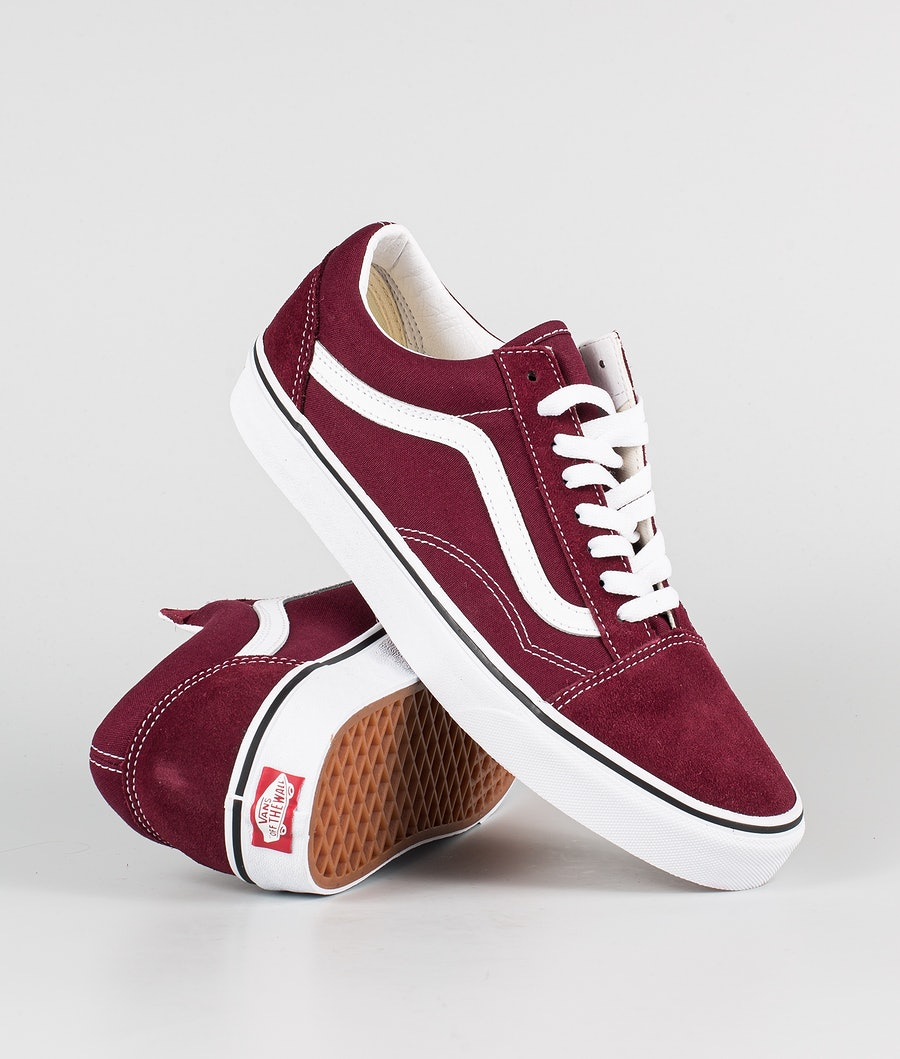 Vans Old Skool Schuhe Port Royale/True White