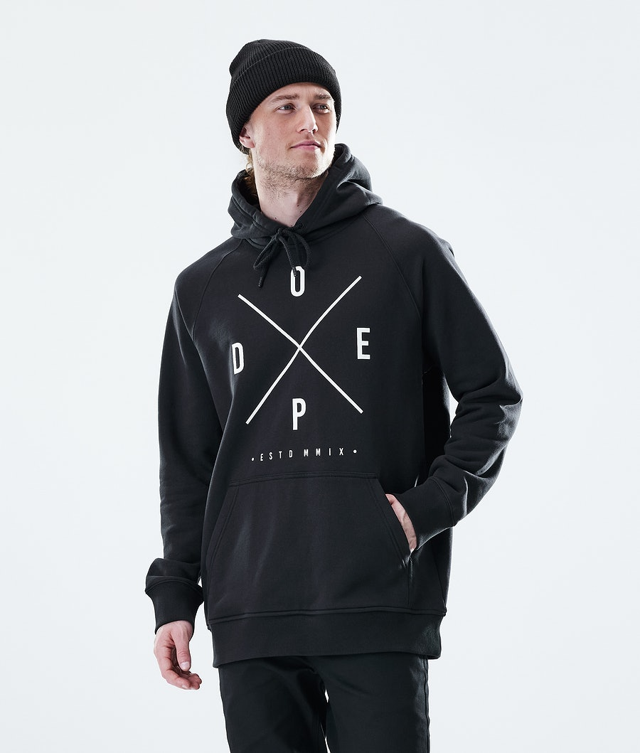 Dope Daily 2X-UP Hood Black