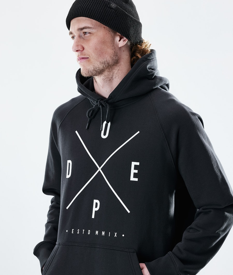 Dope Daily 2X-UP Hoodie Black