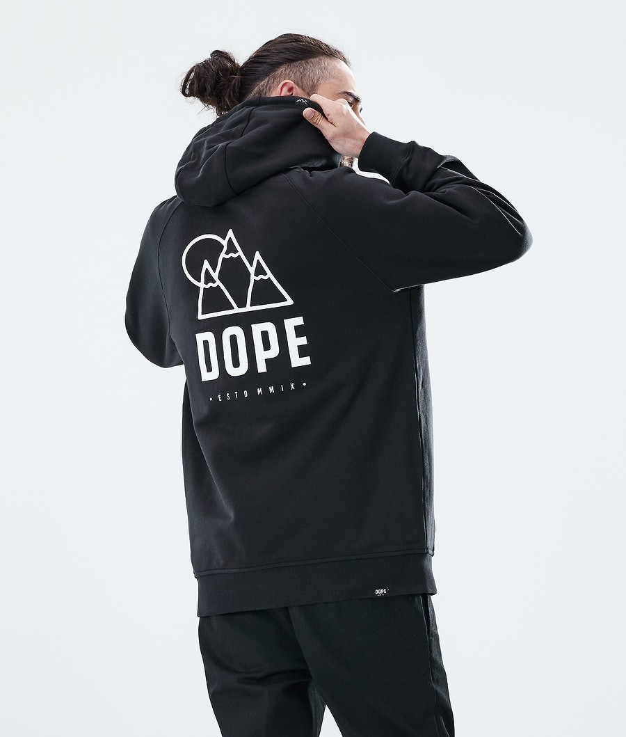 Dope Daily Rise Hood Black