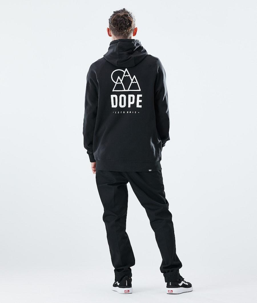 Dope Daily Rise Hoodie Black