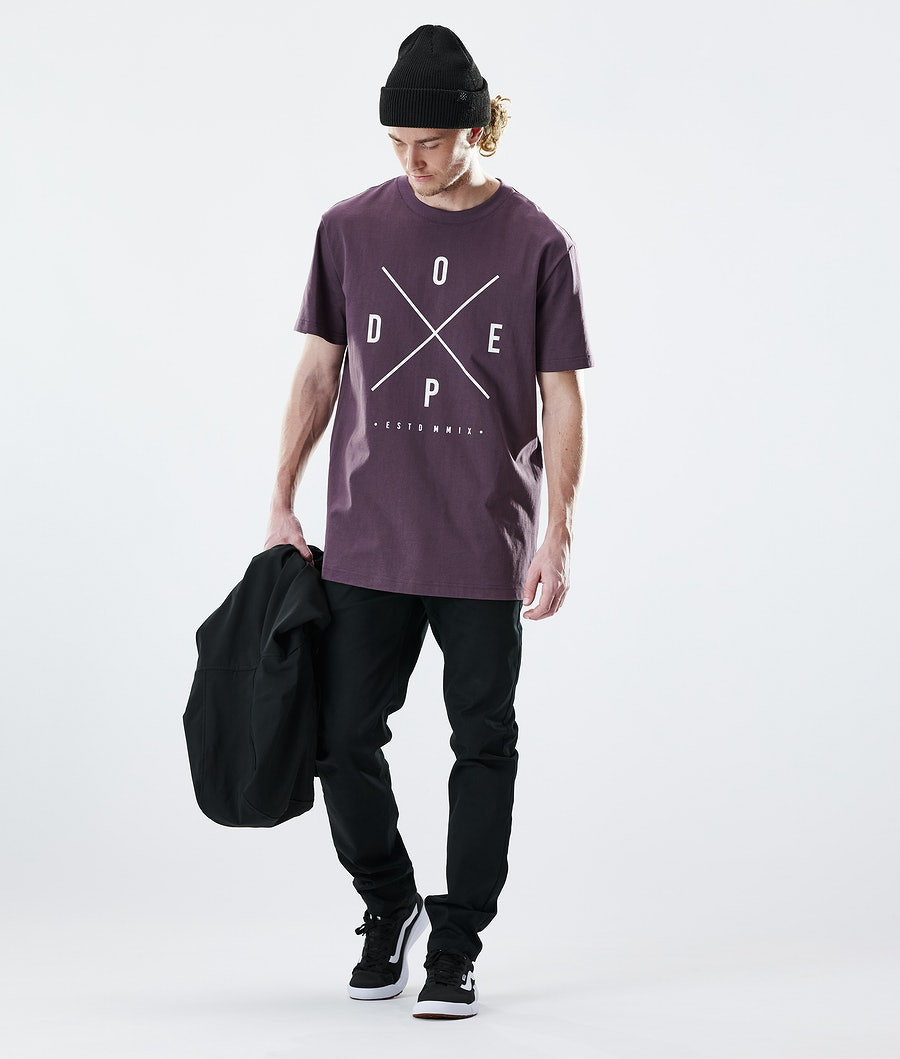 Dope Daily 2X-up T-shirt Faded Grape