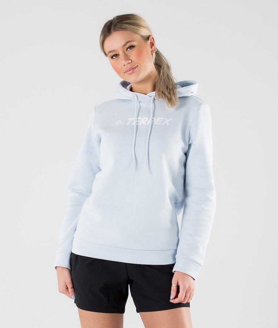 Adidas Terrex Gfx Logo Hoodie Halo Blue