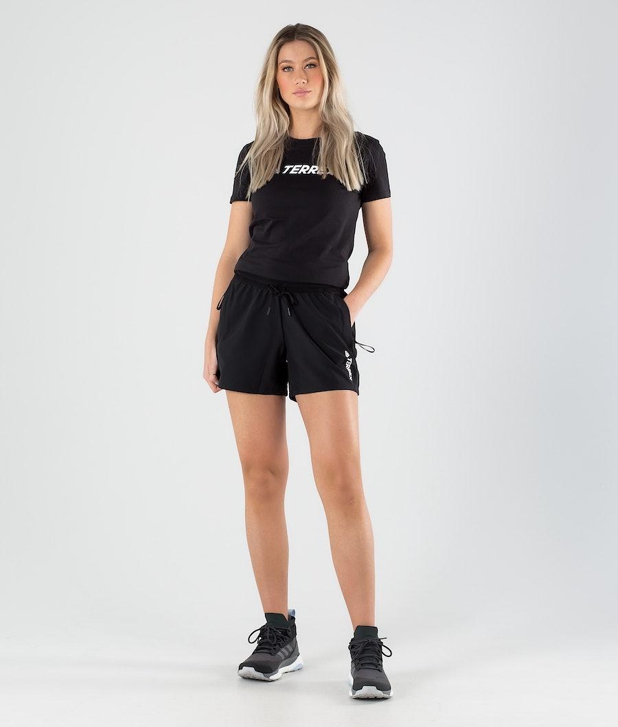 Adidas Terrex Liteflex Shorts Randonnée Femme Black