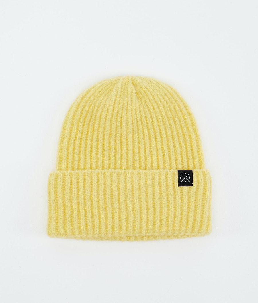 Dope Chunky Mütze Faded Yellow