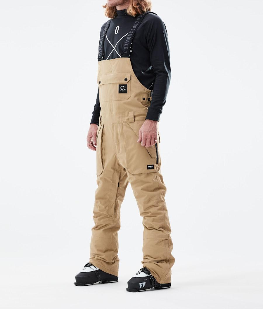 Dope Notorious B.I.B Ski Pants Khaki