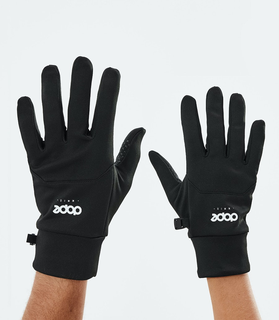 Dope Power Ski Gloves Black/White