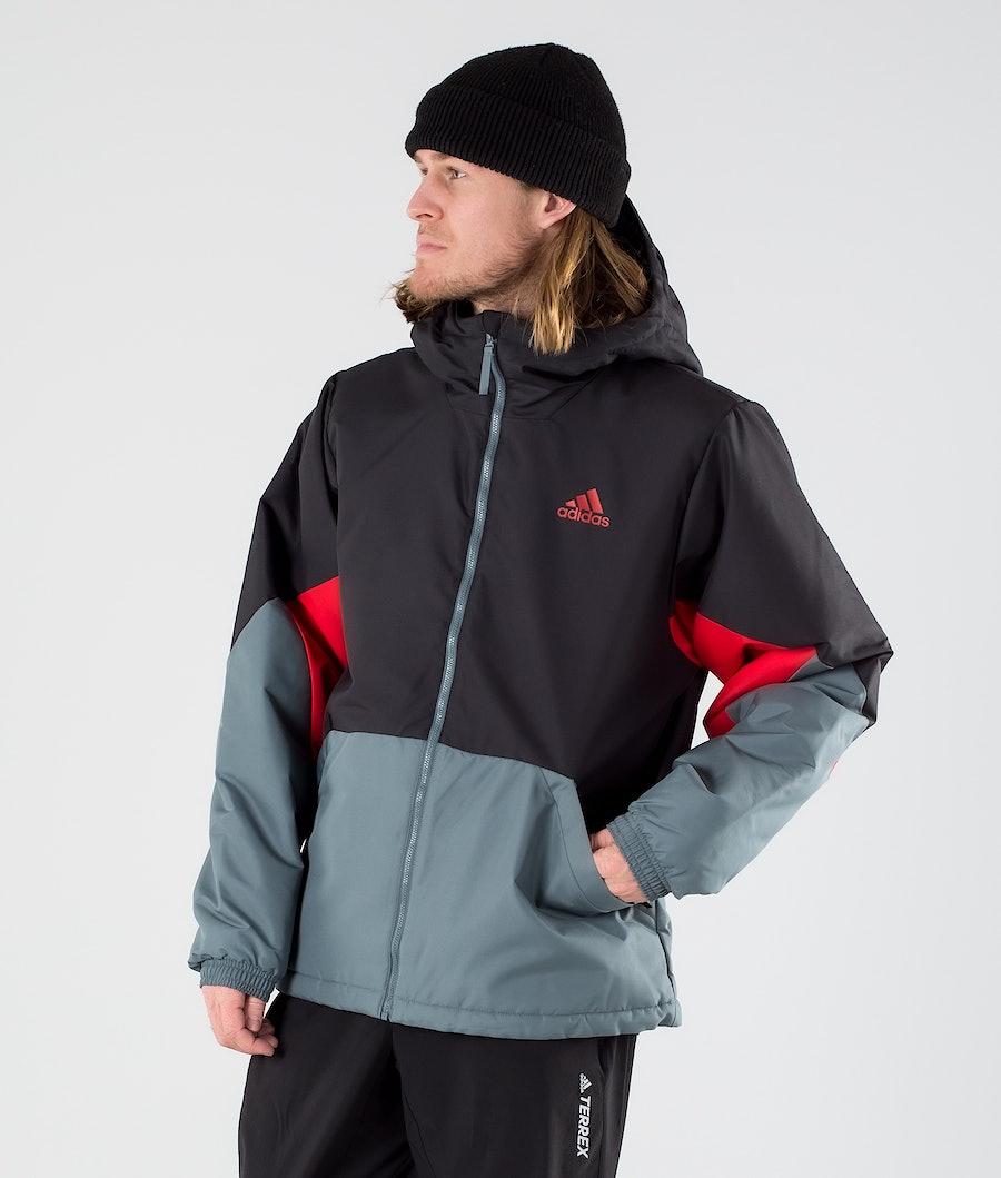 Adidas Terrex BTS Insulated Jas Black/Scarlet