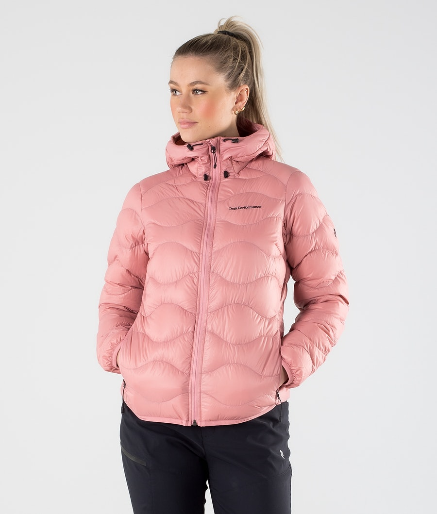 Peak Performance Helium Hood Outdoor Jacket Warm Blush