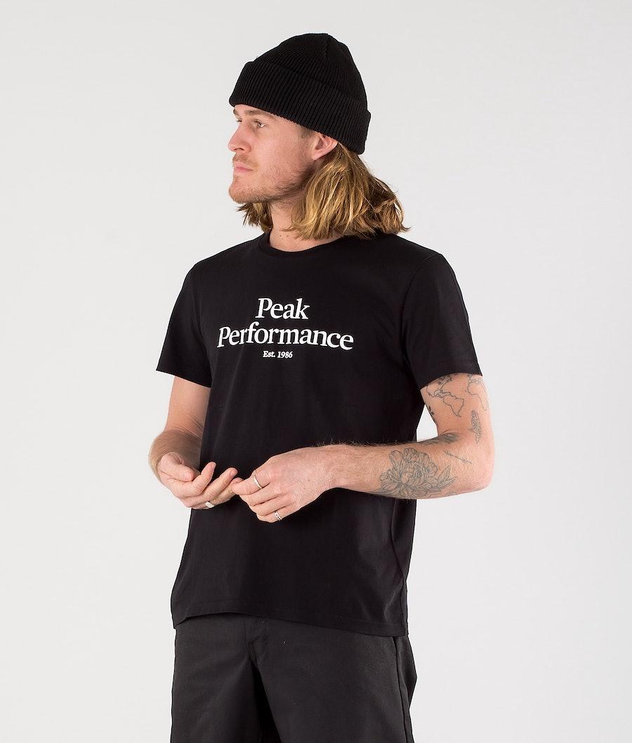Peak Performance Original T-shirt Black