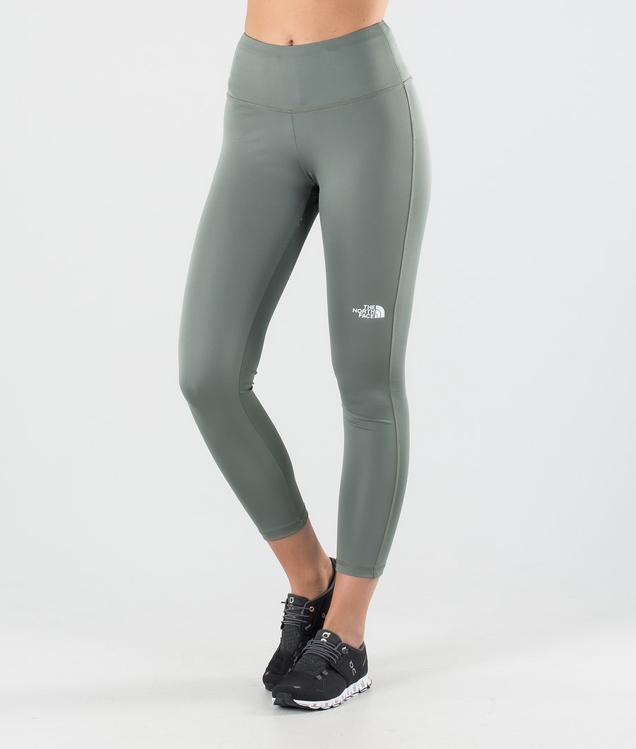 The North Face Flex High Rise Leggings Agave Green