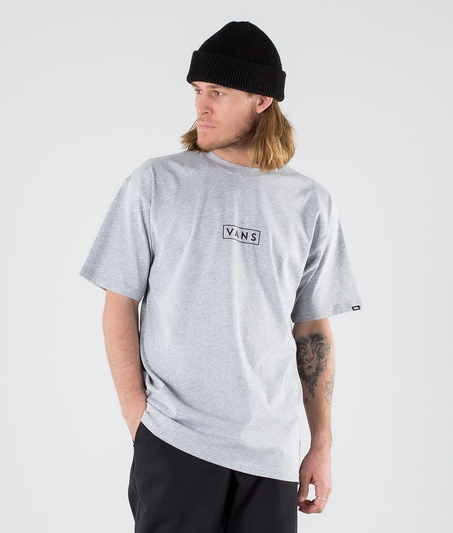 Vans Classic Easy Box T-shirt Athletic Heather/Black