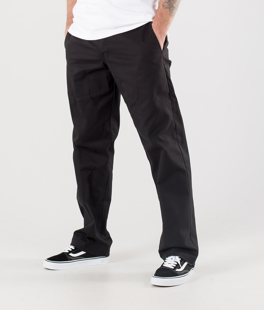 Dickies Slim Straight Flex Bukser Black