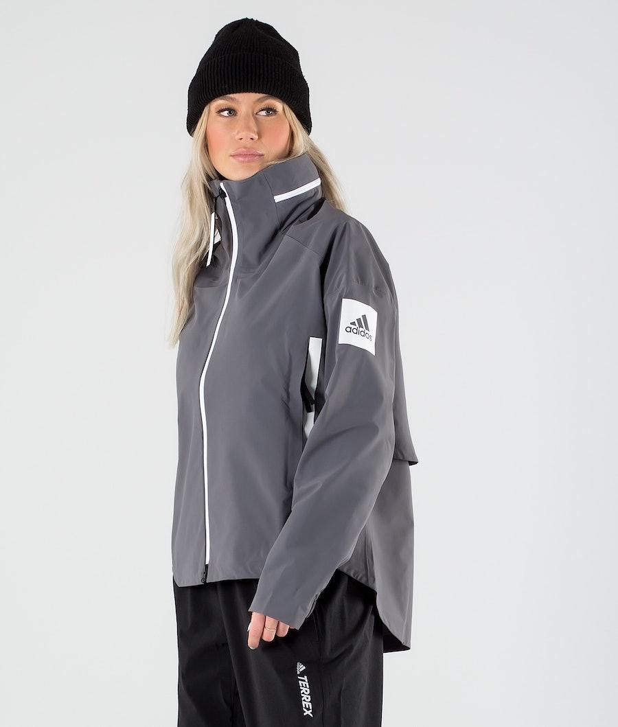 Adidas Terrex Myshelter Jakke Grey Five