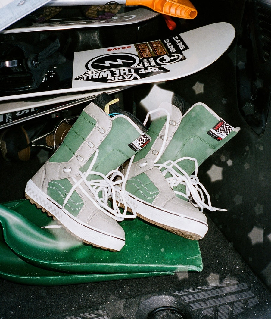 Vans Hi-Standard OG Snowboardboots (Jake Kuzyk) Green/Khaki
