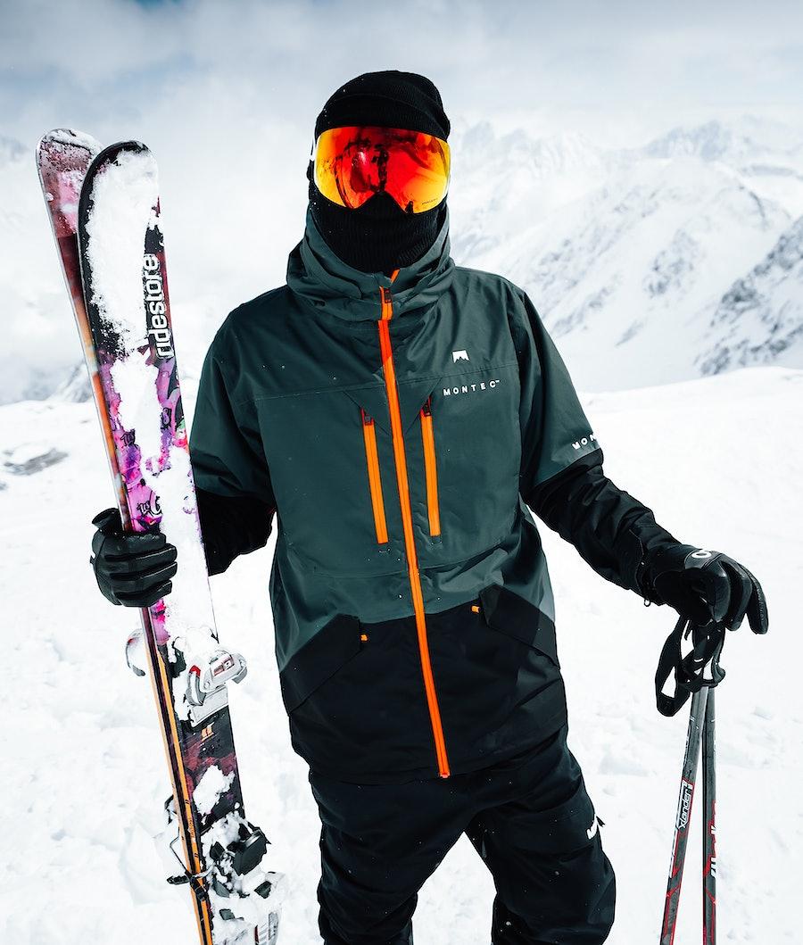 Montec Fenix Giacca da snowboard Dark Atlantic Black