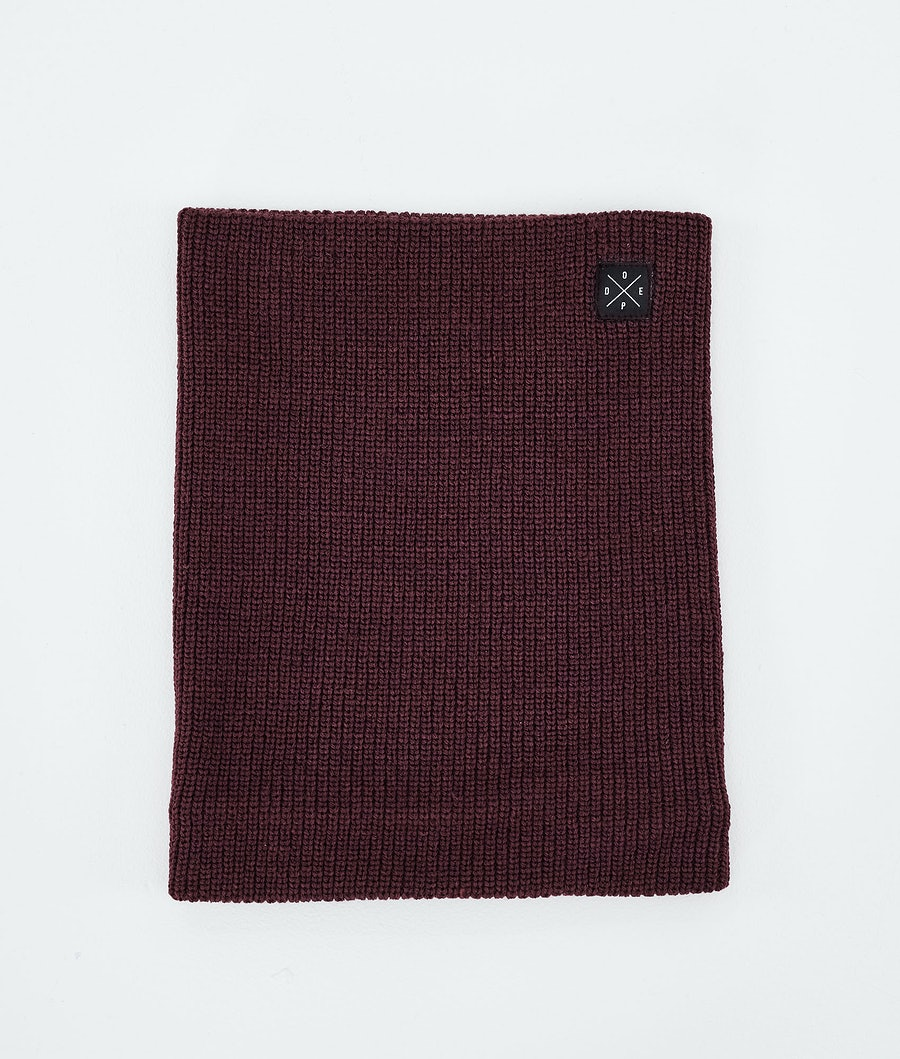 Dope 2X-UP Knitted Ansiktsmask Burgundy