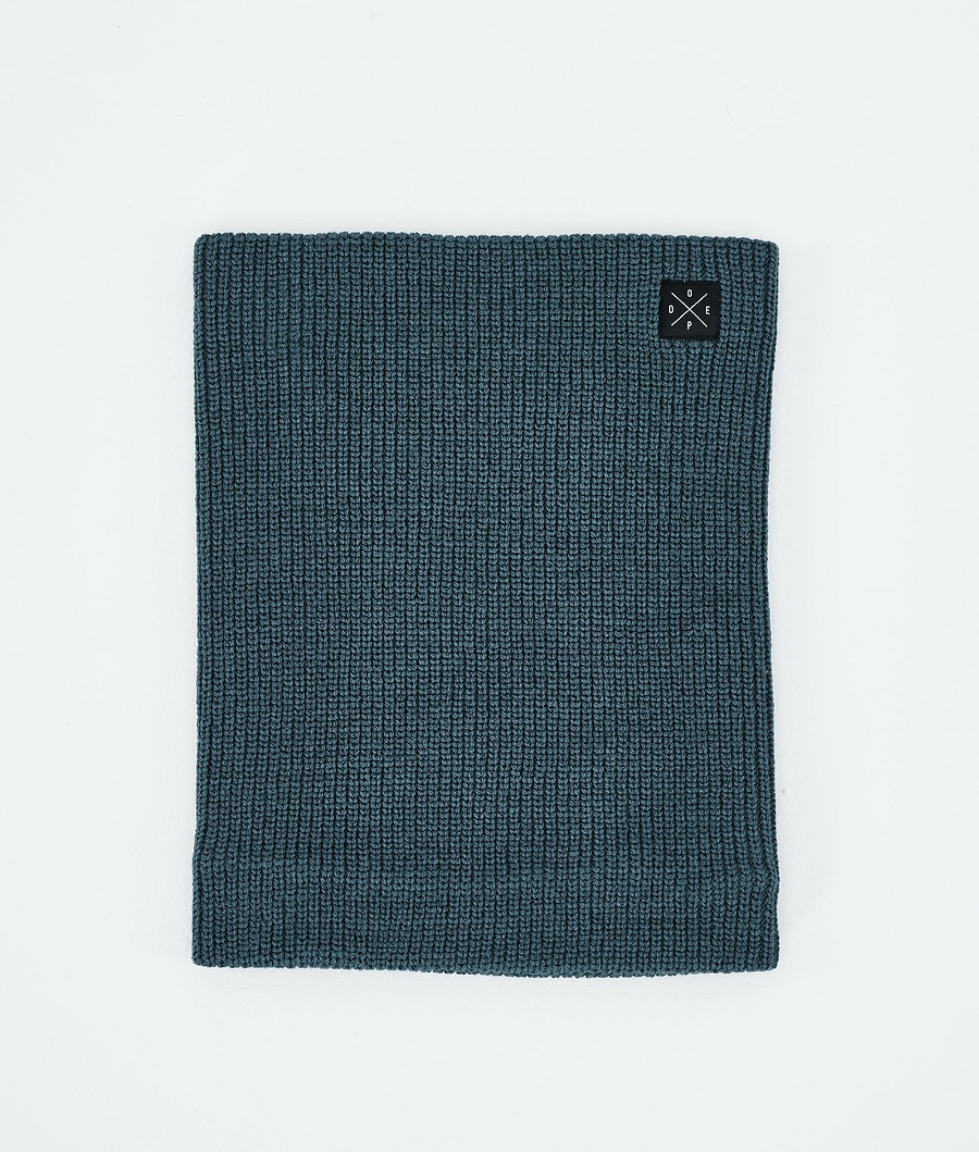 Dope 2X-UP Knitted Ansiktsmask Metal Blue