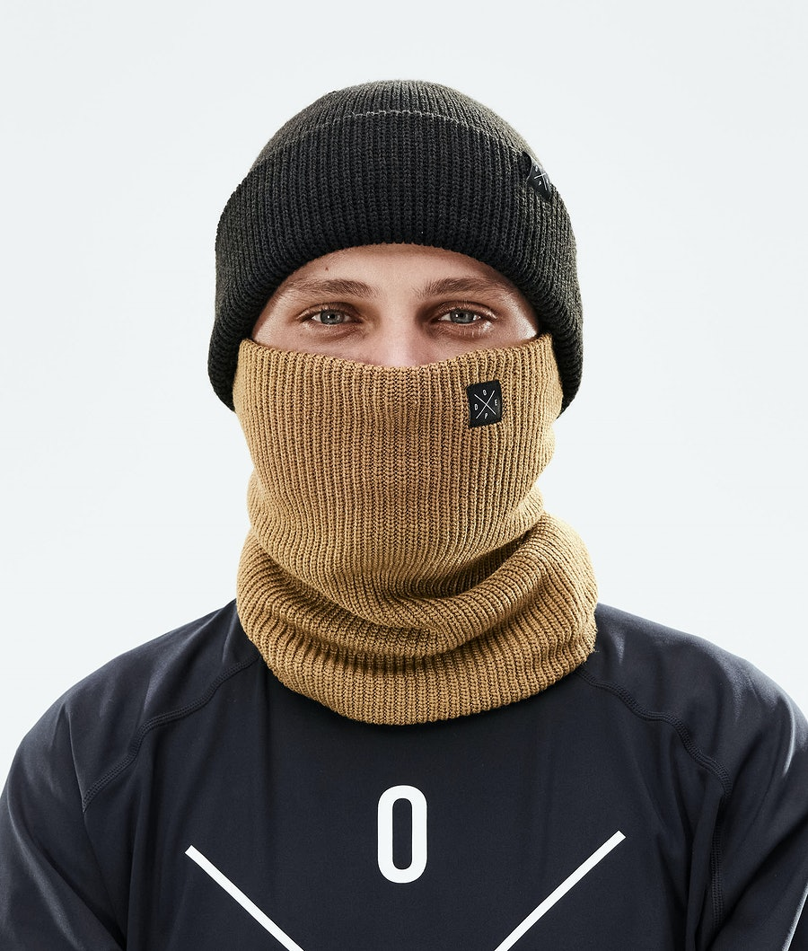 Dope 2X-UP Knitted Schlauchtuch Gold