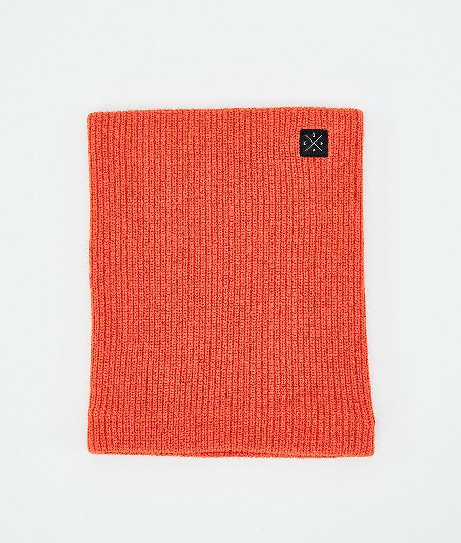 Dope 2X-UP Knitted Ansiktsmask Orange