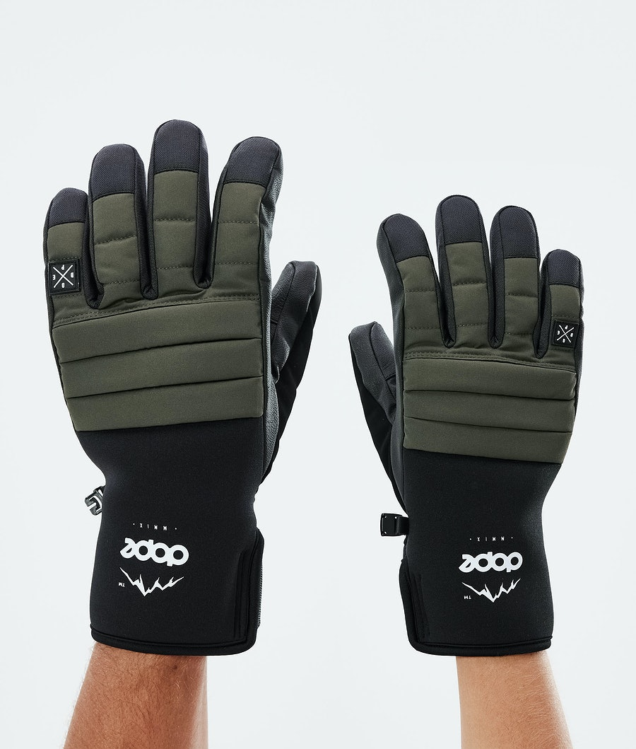 Dope Ace Glove Skidhandskar Olive Green