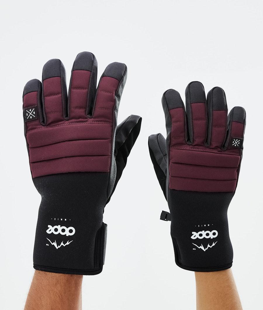 Dope Ace Glove Skidhandskar Burgundy