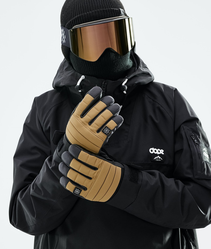 Dope Ace Glove Skidhandskar Dam Gold