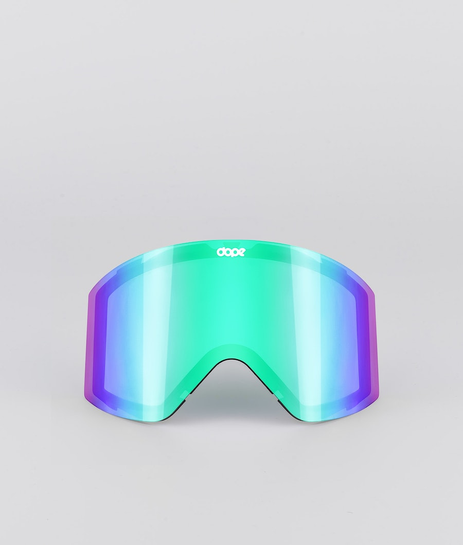 Dope Sight Spare Lens Replacement Lens Snow Green Mirror