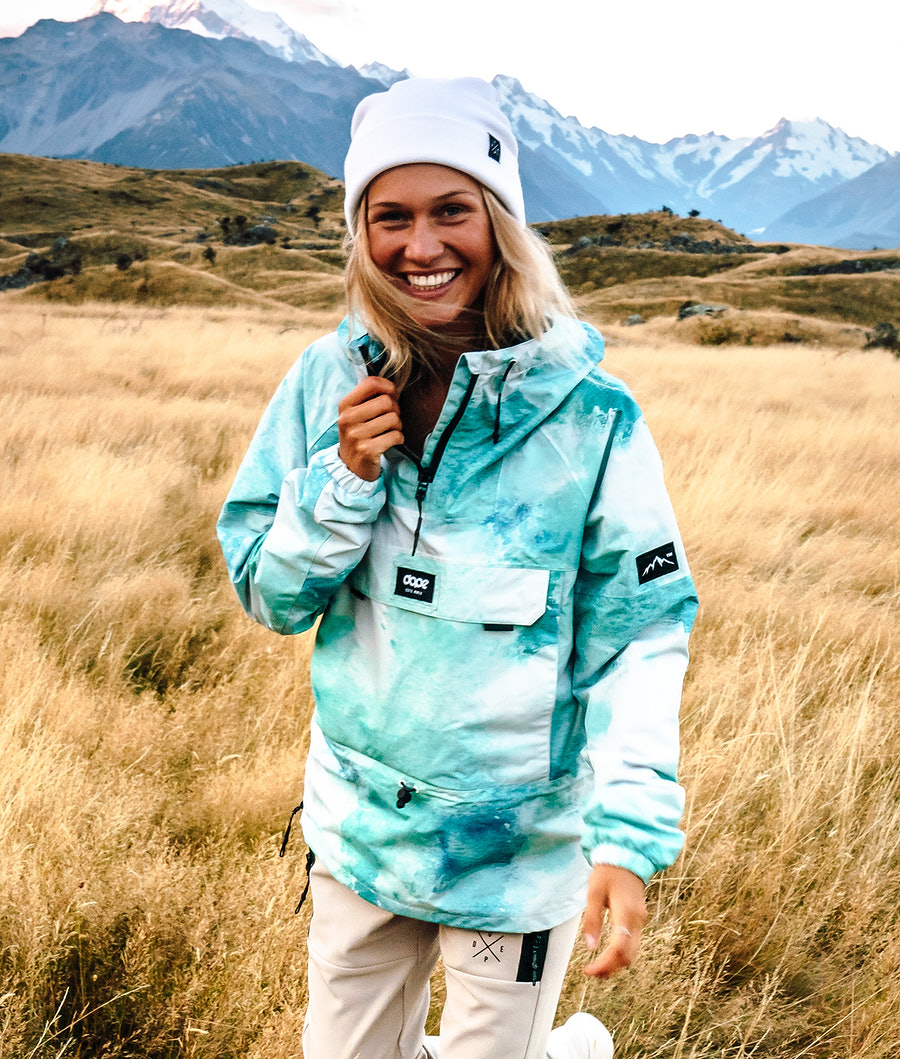 Dope Hiker W Outdoorjacke Water White