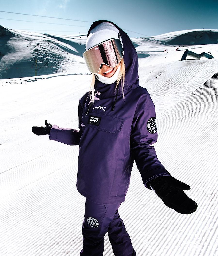 Dope Blizzard W Veste de Ski Femme Grape