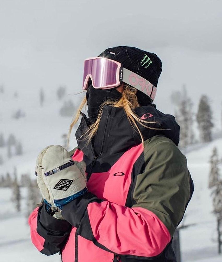 Oakley Line Miner XM Skidglasögon Pink W/ Prizm Snow Hi Pink Iridium
