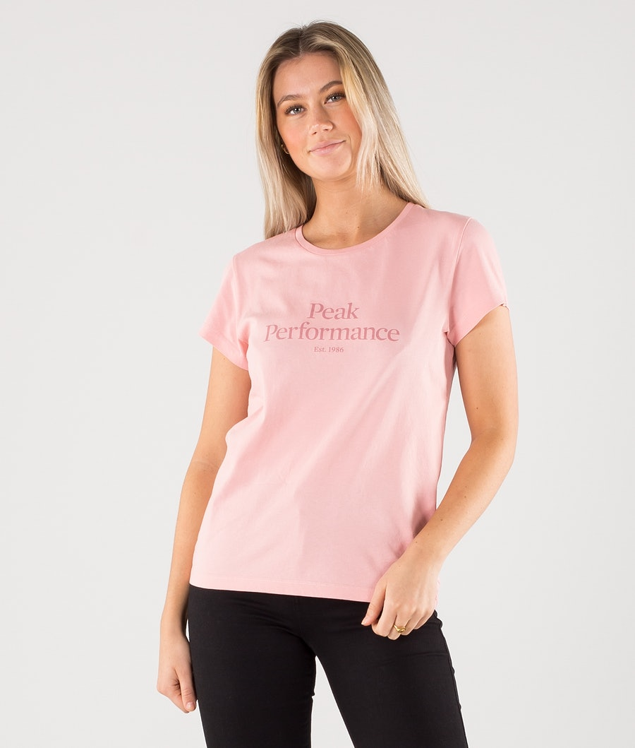 Peak Performance Original T-shirt Warm Blush