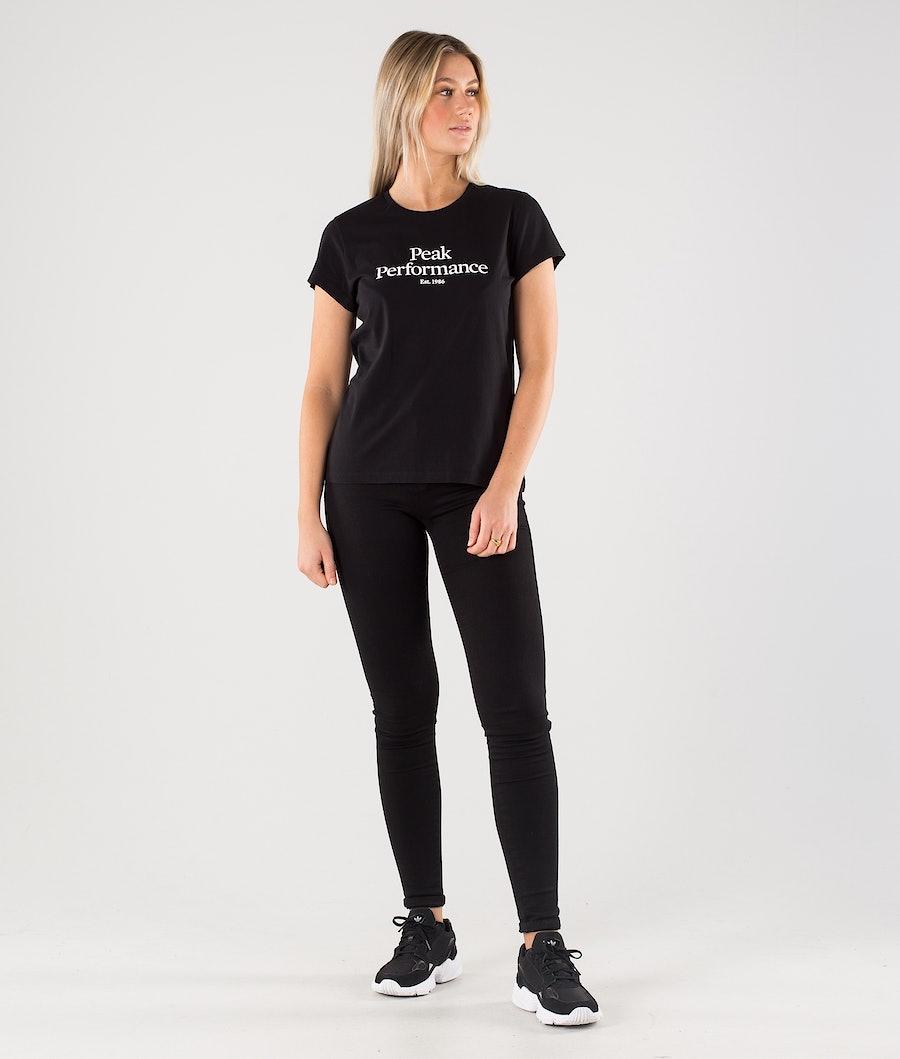 Peak Performance Original T-shirt Dam Black