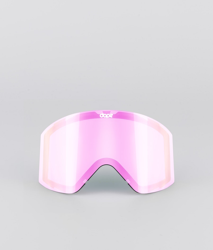 Dope Sight Medium Spare Lens Extralins Snow Pink Mirror