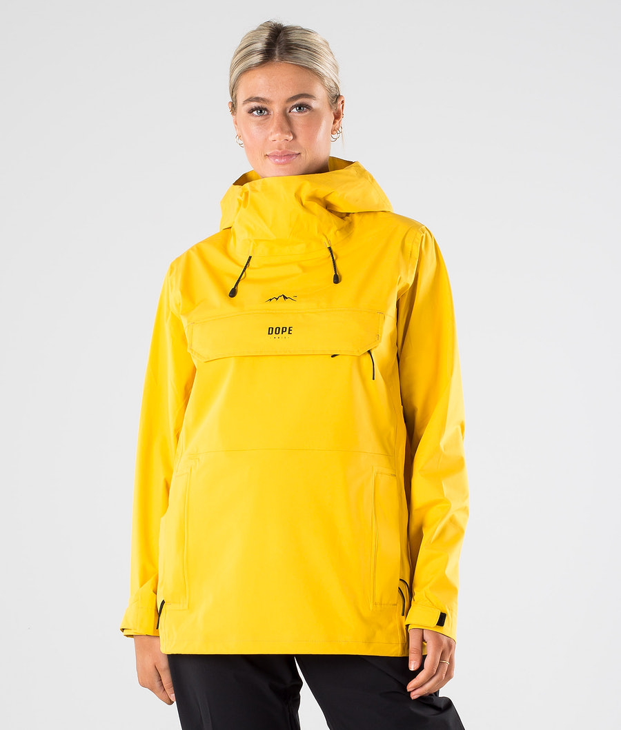 Dope Drizzard W Outdoorjacke Yellow
