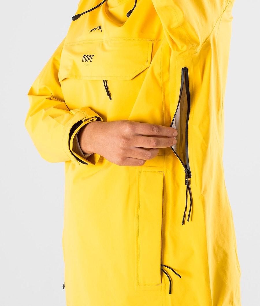 Dope Drizzard W Regnjacka Dam Yellow