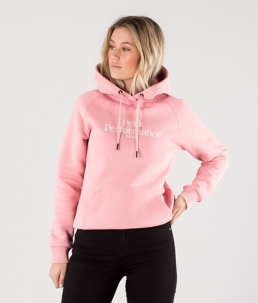 Peak Performance Original Sweats à capuche Warm Blush