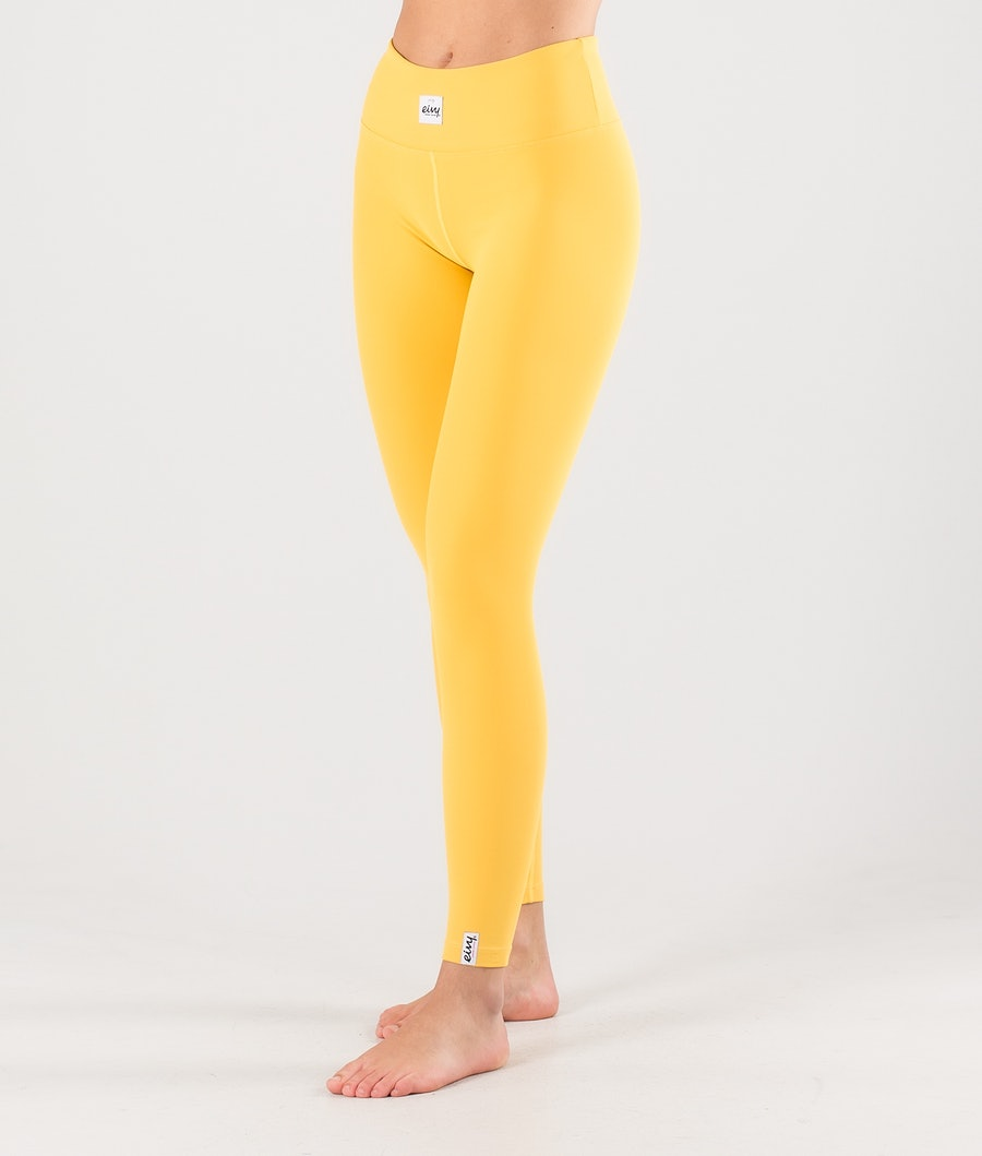 Eivy Venture Tights Base Layer Pant Mustard