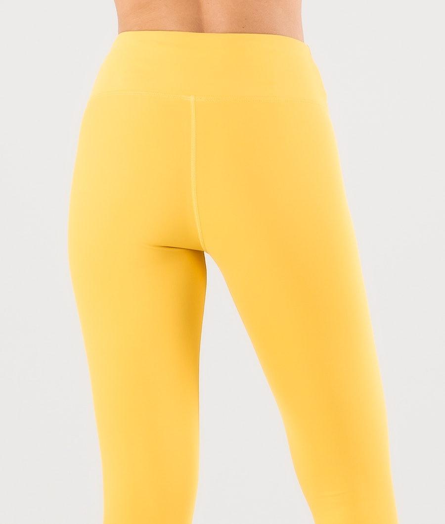 Eivy Venture Tights Basislaag Broek Dames Mustard