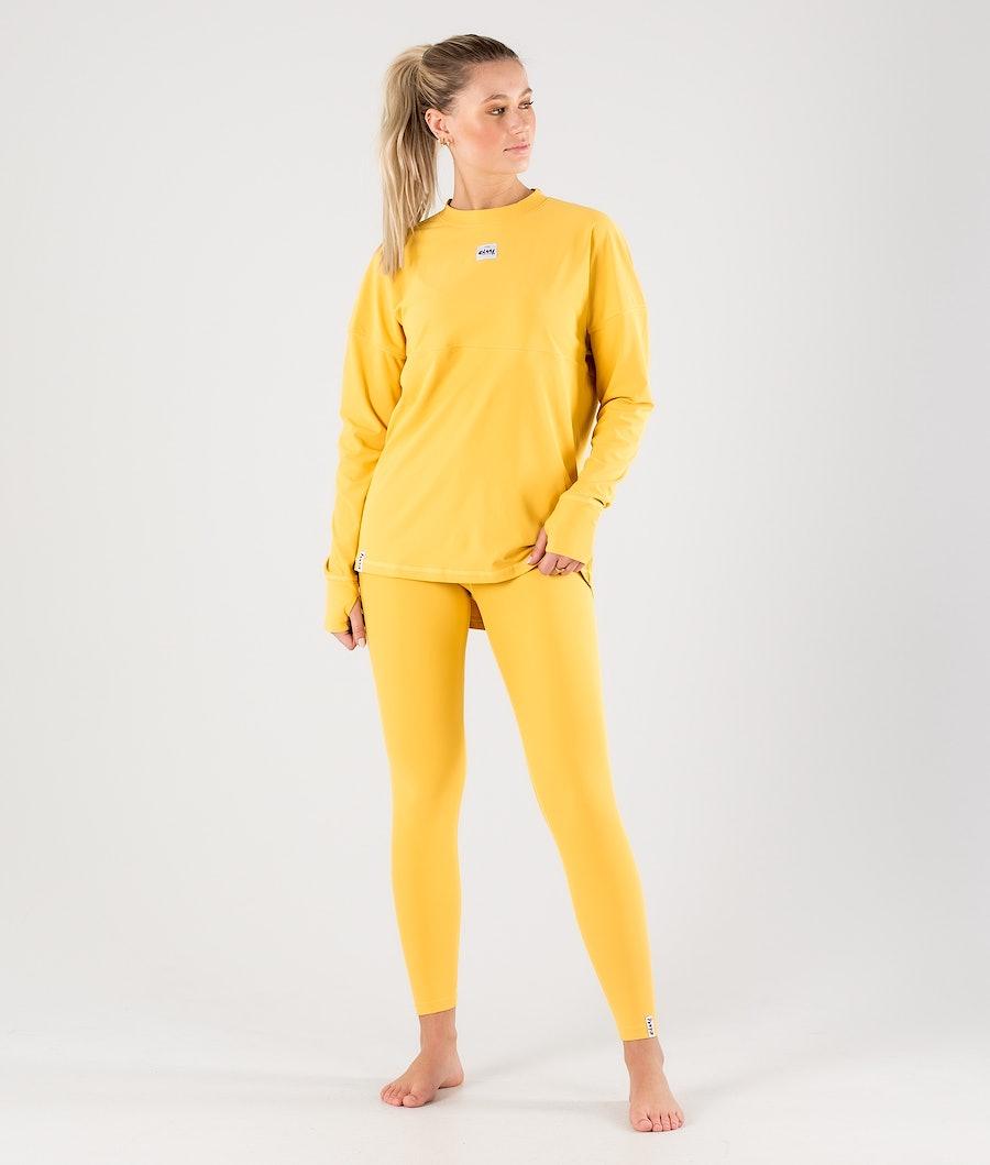 Eivy Venture Top Basislaag Top Dames Mustard