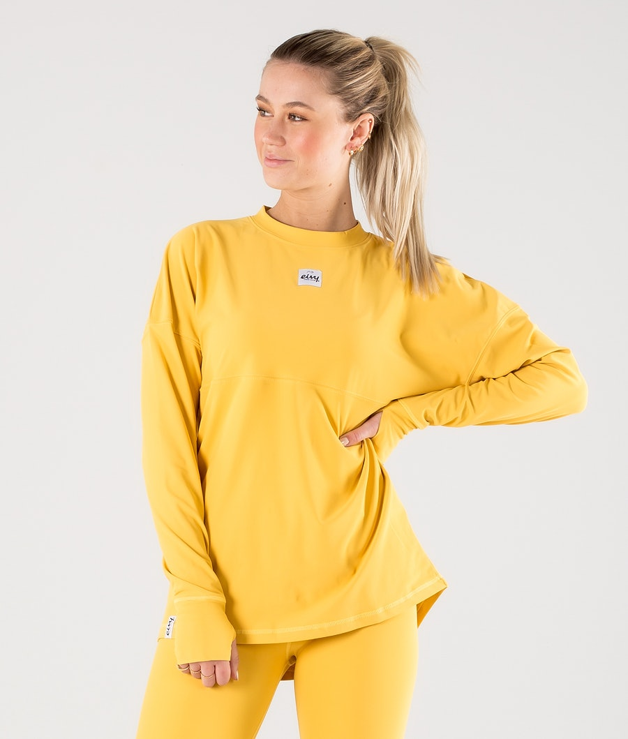Eivy Venture Top Base Layer Top Mustard