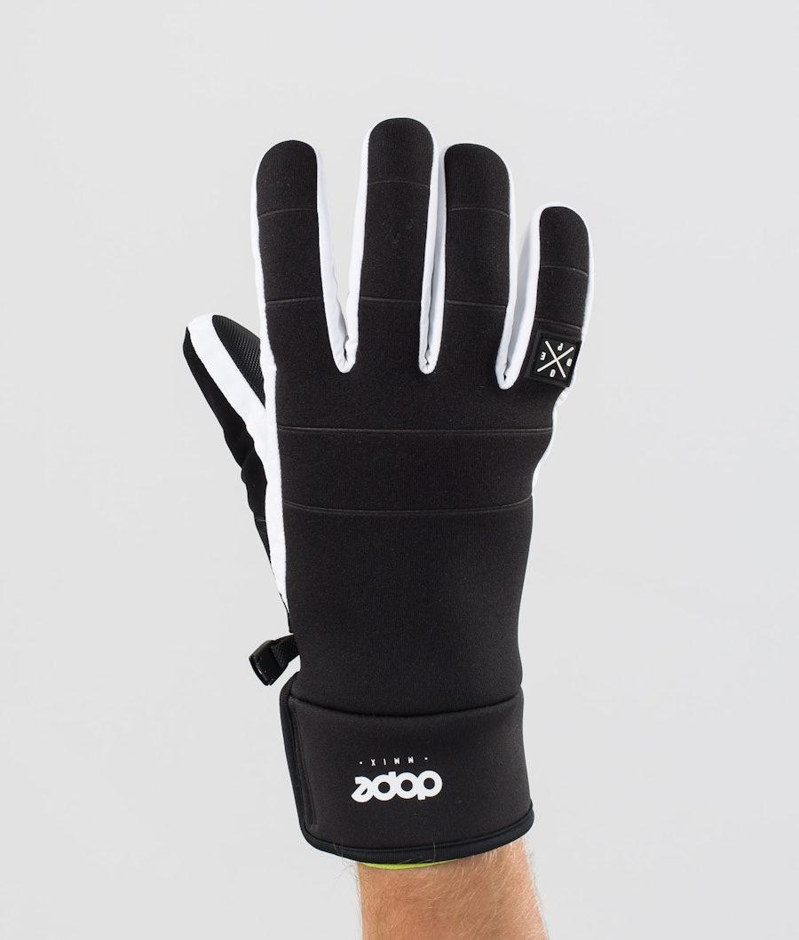 Dope Signet Glove Skihansker Black/White