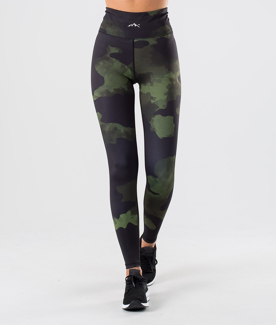 Dope Lofty Leggings Green Camo