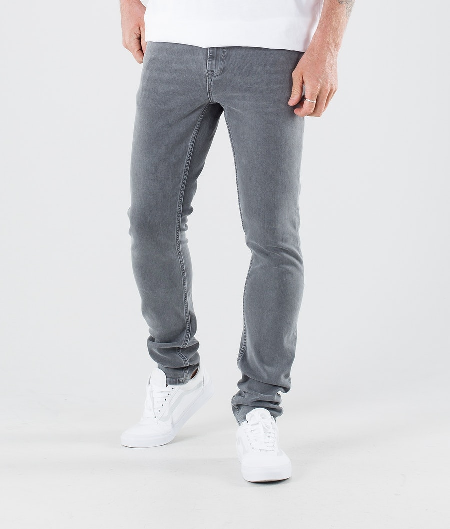 Dr Denim Chase Bukser Light Grey