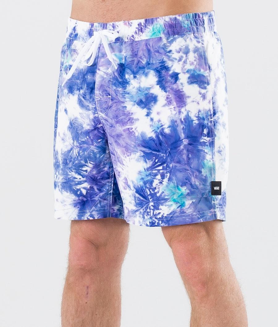 Vans Tie Dye Volley Shorts English Lavender Tie Dye