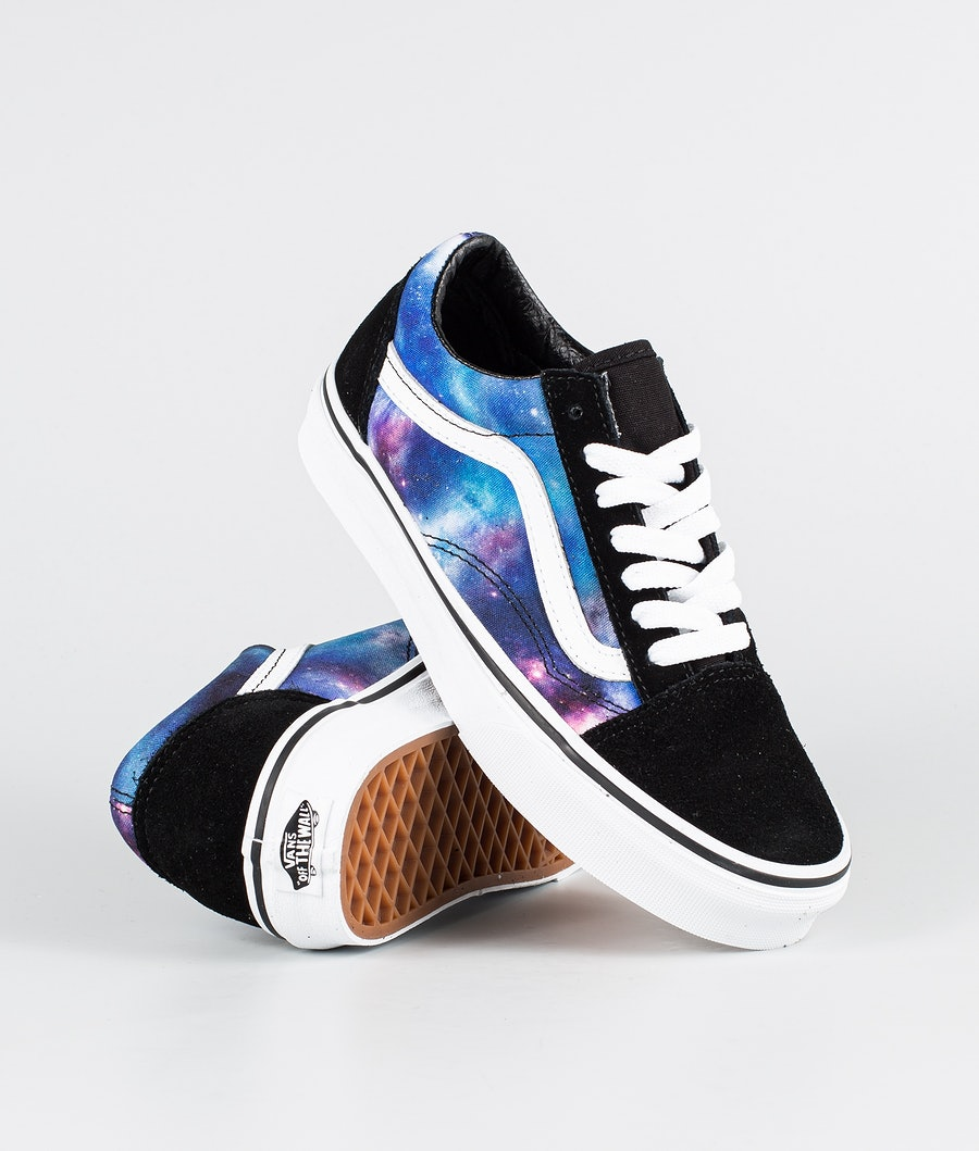 Vans Ua Old Skool Chaussures (Galaxy) Black/True White