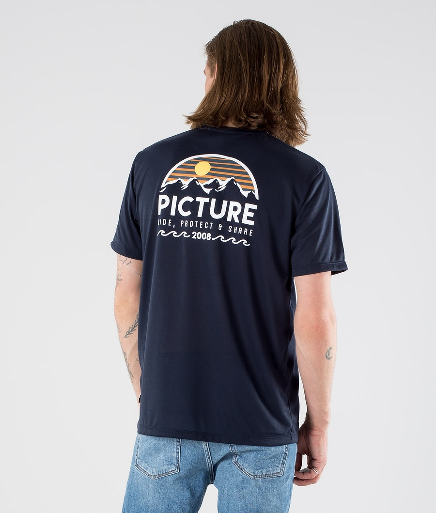 Picture Timont Urban Tech T-Shirt Dark Blue